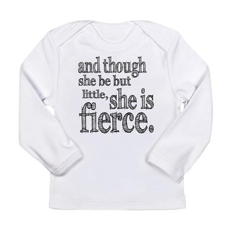 She is Fierce Shakespeare Long Sleeve T-Shirt