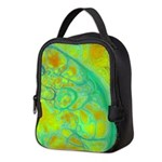 The Green Earth Abstract Neoprene Lunch Bag