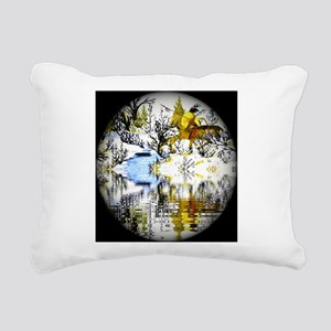 Winter Warrior Special Rectangular Canvas Pillow