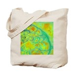 The Green Earth Abstract Tote Bag