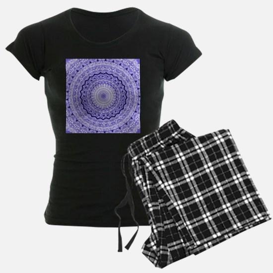 Purple Heart Mandala pajamas