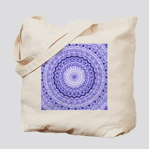 Purple Heart Mandala Tote Bag