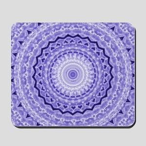 Purple Heart Mandala Mousepad