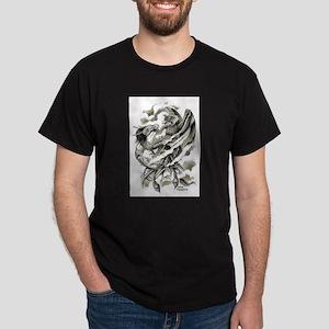 Dragon Phoenix Tattoo Art A4 T-Shirt