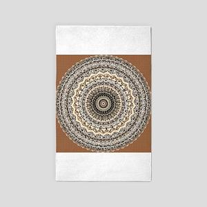 Bygone Love Mandala 3'x5' Area Rug