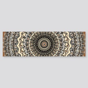 Bygone Love Mandala Bumper Sticker