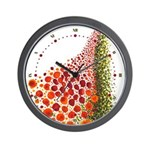 Paths of Color [R.O.G.] Wall Clock