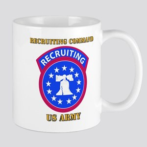 SSI - Army - Recruiting Command with Text Mug