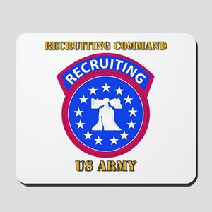 SSI - Army - Recruiting Command with Text Mousepad
