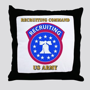 SSI - Army - Recruiting Command with Text Throw Pi