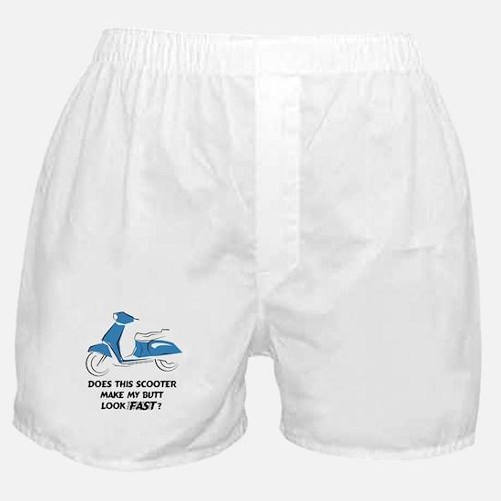 Fast Butt (Blue) Boxer Shorts