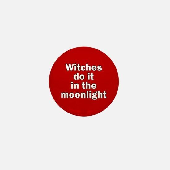 Cute Vegan witches Mini Button