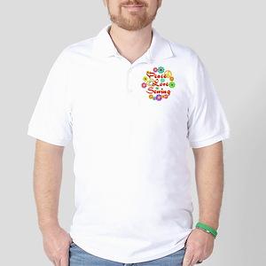 Peace Love Sewing Golf Shirt