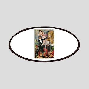 Magician, Woman, Lion & Devils Patches