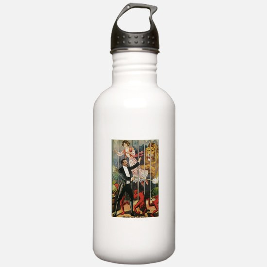 Magician, Woman, Lion & Devils Water Bottle