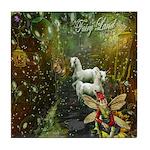 Fairyland Tile Coaster