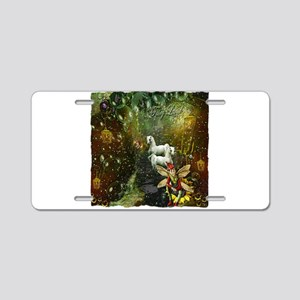 Fairyland Aluminum License Plate