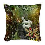 Fairyland Woven Throw Pillow