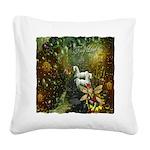 Fairyland Square Canvas Pillow