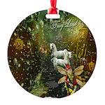 Fairyland Round Ornament