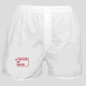 I Believe In Kaleb Boxer Shorts