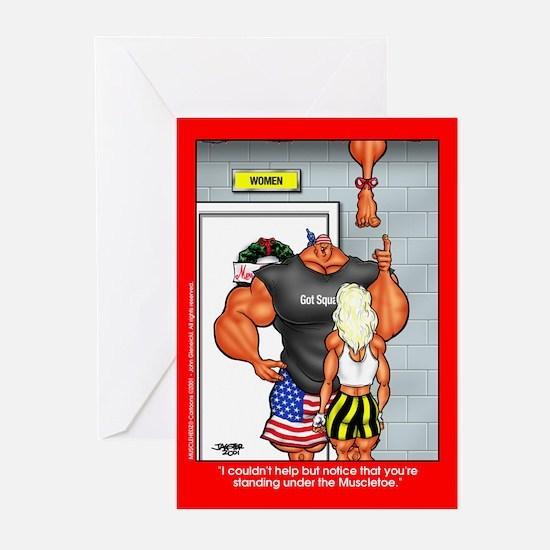 Muscletoe - Xmas Cards (Pk of 10)