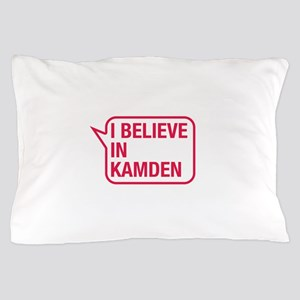 I Believe In Kamden Pillow Case