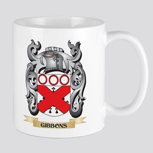 Gibbons Coat of Arms - Family Crest Mugs