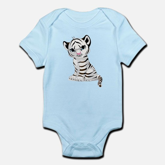 Baby White Tiger Body Suit
