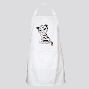 Baby White Tiger Apron