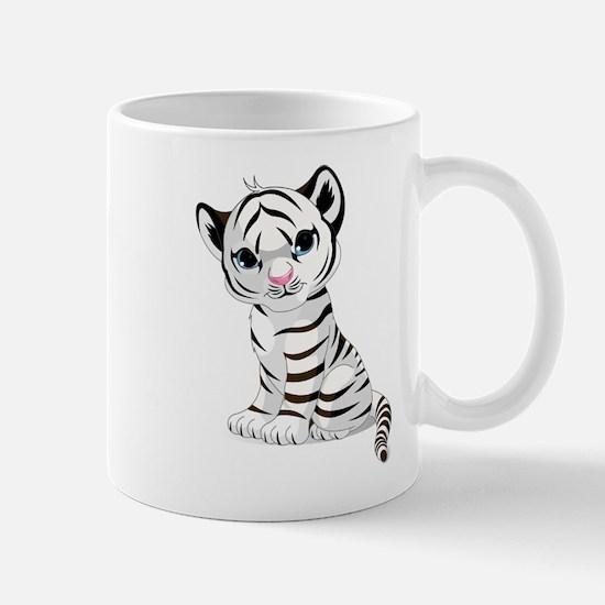 Baby White Tiger Mug