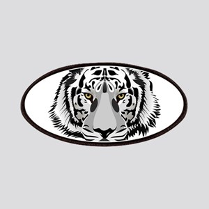 White Tiger Face Patches
