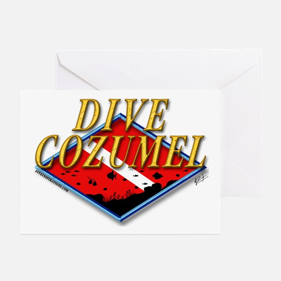 Dive Cozumel Greeting Cards (Pk of 10)