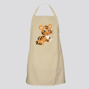Cute Cartoon Baby Tiger Apron