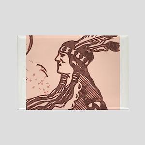 Native American Indian Design 2 Rectangle Magnet