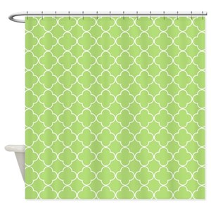 lime green shower curtains cafepress