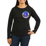 Thug Free America Women's Long Sleeve Dark T-Shirt
