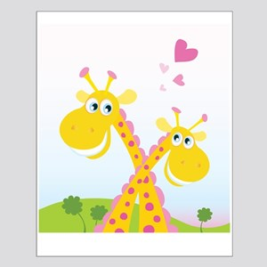 Two Giraffes Posters