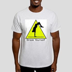 Break Yourself Ash Grey T-Shirt