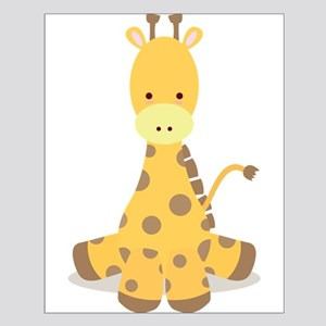 Baby Cartoon Giraffe Posters