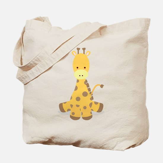 Baby Cartoon Giraffe Tote Bag