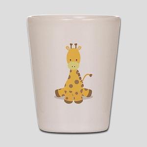 Baby Cartoon Giraffe Shot Glass