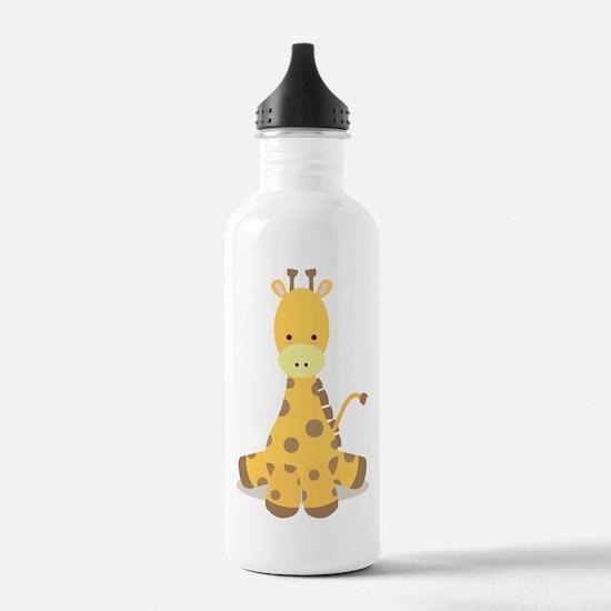 Baby Cartoon Giraffe Water Bottle