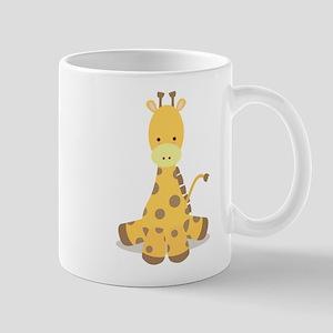 Baby Cartoon Giraffe Mug