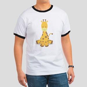 Baby Cartoon Giraffe T-Shirt