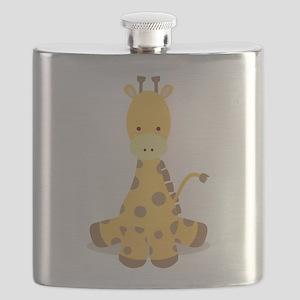 Baby Cartoon Giraffe Flask