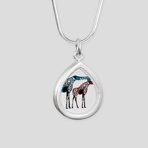 Abstract Giraffe Necklaces