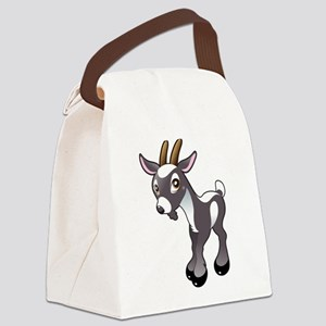 Baby Goat Canvas Lunch Bag