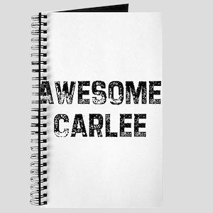 Awesome Carlee Journal