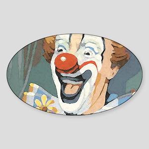 Painted Clown Sticker